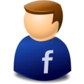 Facebook admin icon