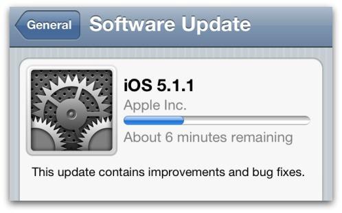 iOS 5.1.1 update download