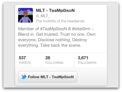 MLT on Twitter
