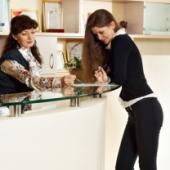 Hotel reception desk. Image courtesy of Shutterstock