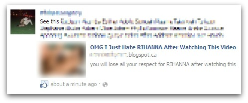 OMG I just hate RIHANNA after watching this video