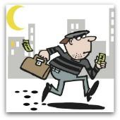 Image of robber, courtesy of Shutterstock