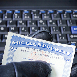 SSN Thief photo courtesy of Shutterstock