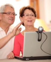 Couple on video call. Image from Shutterstock