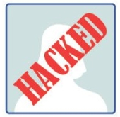 Hacked Facebook woman. Image courtesy of Shutterstock