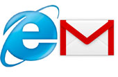 IE and Gmail