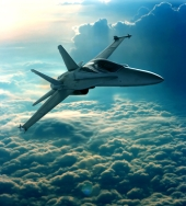 Jet fighter. Image from Shutterstock