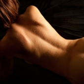Nude back. Image from Shutterstock