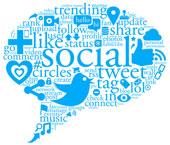 Social speech bubble, courtesy of Shutterstock