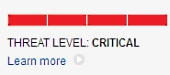 Threat level critical