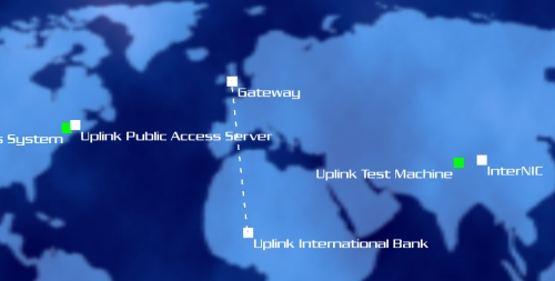 Uplink map
