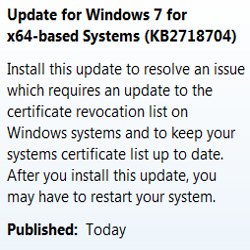 Microsoft update revoking Flame compromised certificates