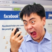 Angry phone owner. Image from Shutterstock