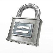 Padlock image, courtesy of Shutterstock