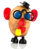 Potato head. Image from Shutterstock