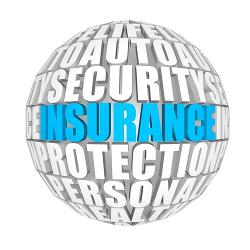 Insurance globe image courtesy of Shutterstock