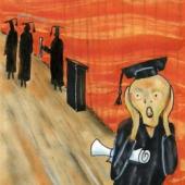 Student scream. Image from Shutterstock