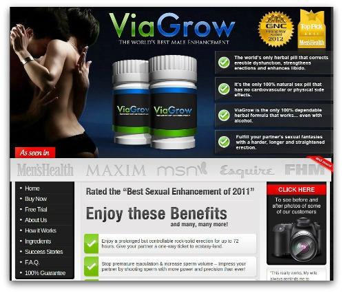 Viagrow website