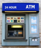 ATM machine. Image from Shutterstock
