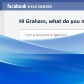 Flood of spam on Facebook Help Center
