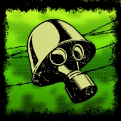 Gas mask. Image from Shutterstock