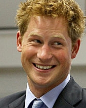 Prince Harry, wearing clothes and not playing billiards