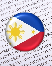 Philippines flag. Image from Shutterstock