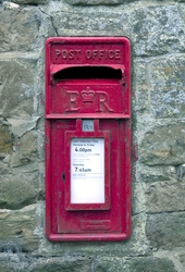 Post box. Image from Shutterstock