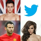 Twitter, Tom Daley, Ryan Giggs and Imogen Thomas