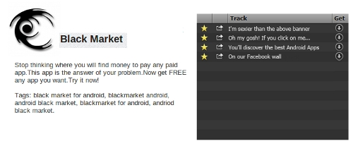 Black Market Application