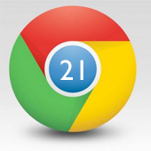 Google Chrome 21