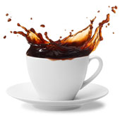 Coffee cup, courtesy of Shutterstock