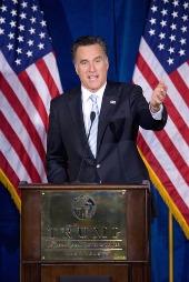 Mitt Romney, courtesy of spirit of america/Shutterstock
