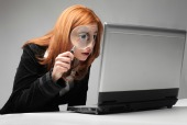 Spying on computer, courtesy of Shutterstock