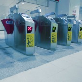 Ticket barriers, courtesy of Shutterstock