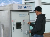 Ticket machine, courtesy of Shutterstock