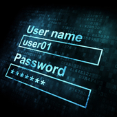Username and password. Image from Shutterstock