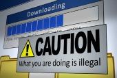 Warning on screen, courtesy of Shutterstock
