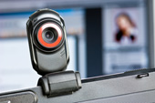 Webcam. Image from Shutterstock