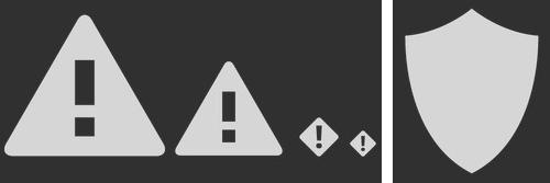Anti-malware graphics