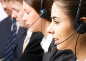 Call centre workers, courtesy of Shutterstock