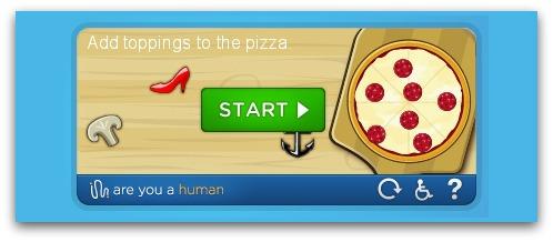 CAPTCHA challenge