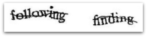 Conventional CAPTCHA