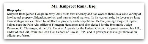 Biography of Mr Kulpreet Rana