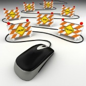 Mouse and internet threats, courtesy of Shutterstock