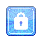 Password lock icon. Image from Shutterstock