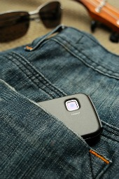 Camera in pocket, courtesy of Shutterstock