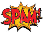 Spam image, courtesy of Shutterstock
