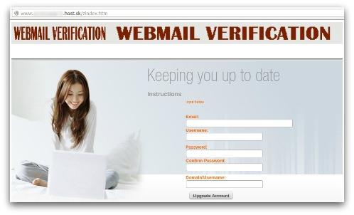 Windows 8 phishing website