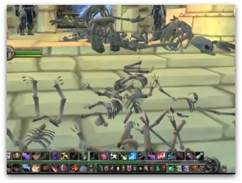 Skeletons in World of Warcraft